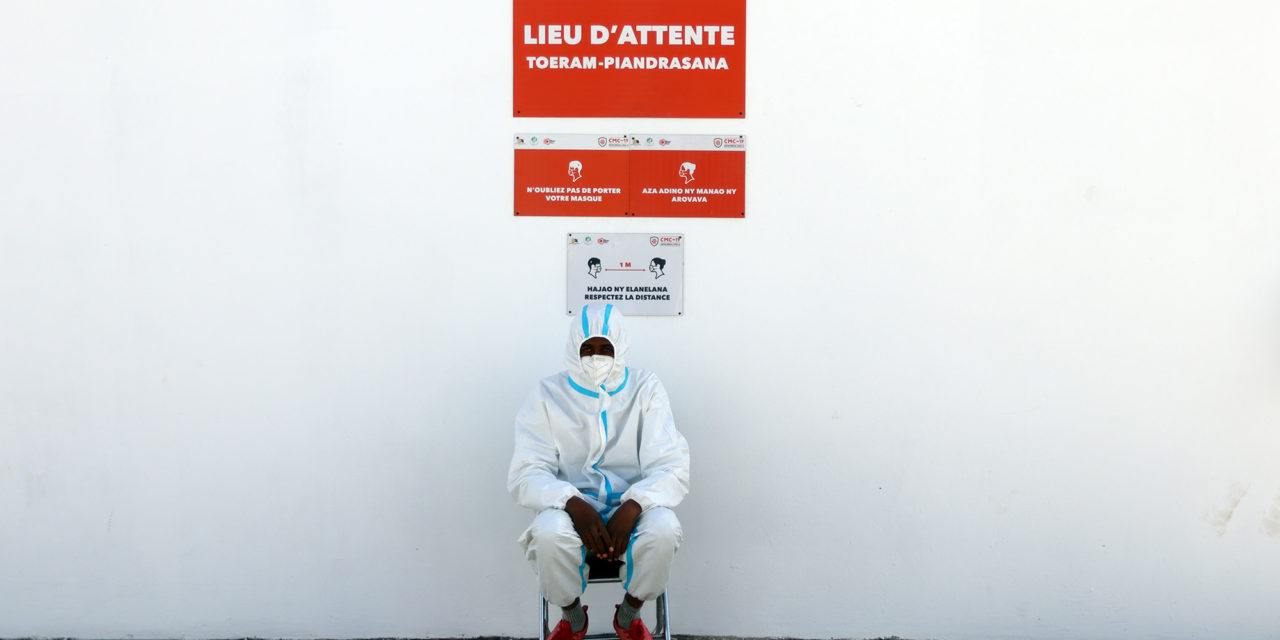 Immersion dans le Centre médical Covid 19 d'Antananarivo