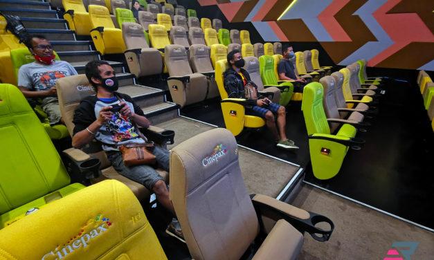 Jouez à Mario Kart dans une salle de Cinéma